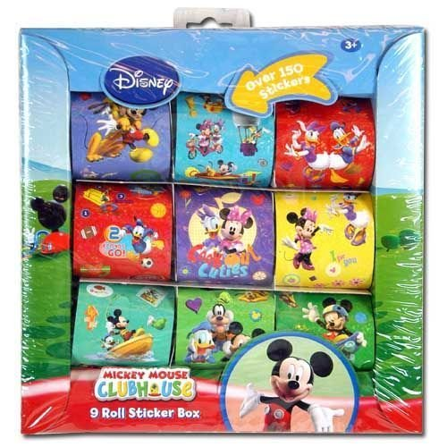 Mickey 9 Roll Sticker Box