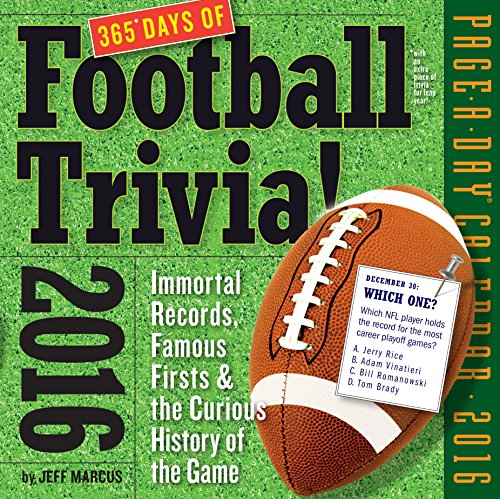 365 Days of Football Trivia!