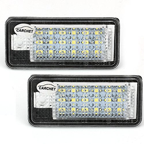 carchetr-2-white-18-smd-car-led-number-license-plate-lights-lamps-bulbs-for-audi-a3-a4-8e-rs4-a6-rs6
