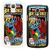 DC Marvel comic book cover case for Samsung Galaxy S4 i9500 Dr Strange - G760 - Black