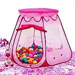 BATTOP Pink Princess Tent Indoor and...