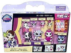 Littlest Pet Shop Glitter Pets 8 Pack #4080-4087