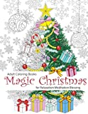 Magic Christmas Adult Coloring Book: For Relaxation Meditation Blessing (Volume 8)