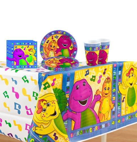 Imagen de Barney Partido Kit para 8 personas