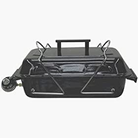 Kay Home Products 30005DI MarshAllan Portable Tabletop Gas Grill