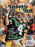 Brett Favre Hand Signed Autographed Sports Illustrated Official Magazine Packers