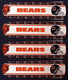 Ceiling Fan Designers 42SET-NFL-CHI NFL Chicago Bears Football 42 In. Ceiling Fan Blades Only