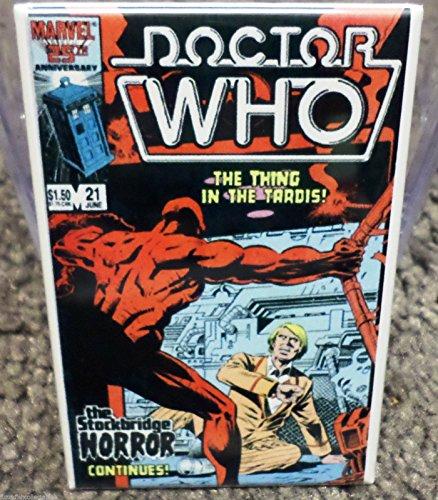 Doctor Who #21 Vintage Comic Cover 2 x 3 Refrigerator or Locker MAGNET TARDIS (Tardis Fridge Cover compare prices)