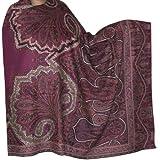"""Abend Wrap Schal Antike Paisley Design Wolle Mehrfarbige 213 X 101 Cmvon """"ShalinIndia"""""""