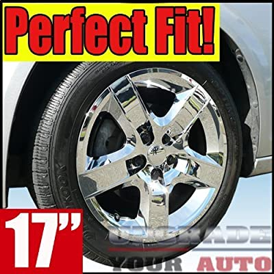 "2008-2011 Chevrolet Malibu 17"" Chrome Wheel Covers ""Bolt on"" Factory-Quality"