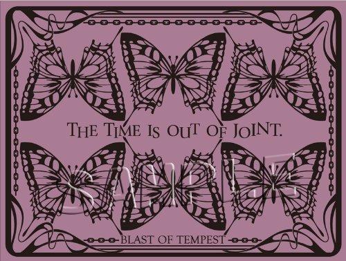 絶園のテンペスト ランチョンマット 揚羽蝶