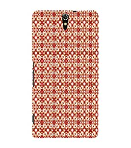 EPICCASE square flashes Mobile Back Case Cover For Sony Xperia C5 Ultra Dual (Designer Case)