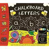 Chalkboard Letters (Blackboard Book and Chalks)