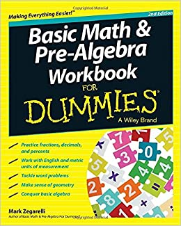 Pre Algebra For Dummies Downloads
