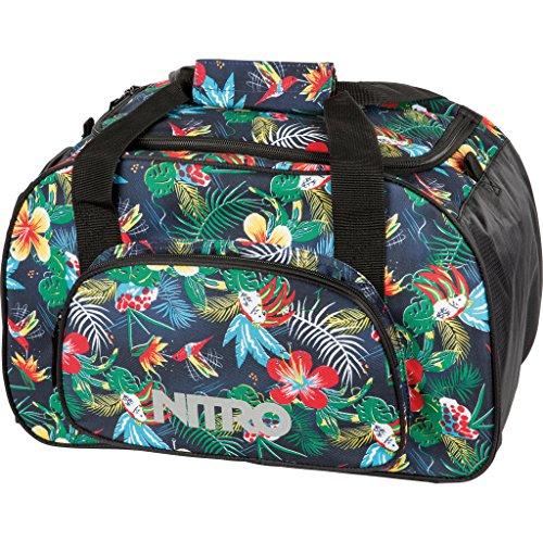 Nitro - Borsa sportiva, modello Duffle Bag Multicolore paradiso 23 x 23 x 40 cm, 35 Liter