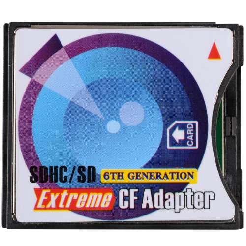 B.I.G. Adaptateur SD/SDHC vers CompactFlash Type II