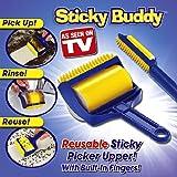 CIMC LLC Buddy Reusable Sticky Picker Cleaner Lint Roller Pet Hair Remover Brush