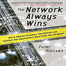 The Network Always Wins: How to Influence Customers, Stay Relevant, and Transform Your Organization to Move Faster than the Market | Livre audio Auteur(s) : Peter Hinssen Narrateur(s) : John Haag