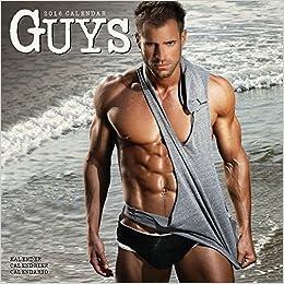 Guys Calendar - 2016 Wall calendars - Hot Guy Calendar - Sexy Calendar