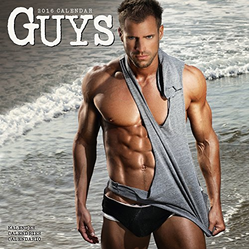 Hot Calendario.Guys Calendar 2016 Wall Calendars Hot Guy Calendar