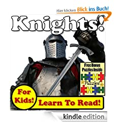 Knights! Learn About Knights While Learning To Read - Knight Photos And Facts Make It Easy! (Over 45+ Photos of Knights)
