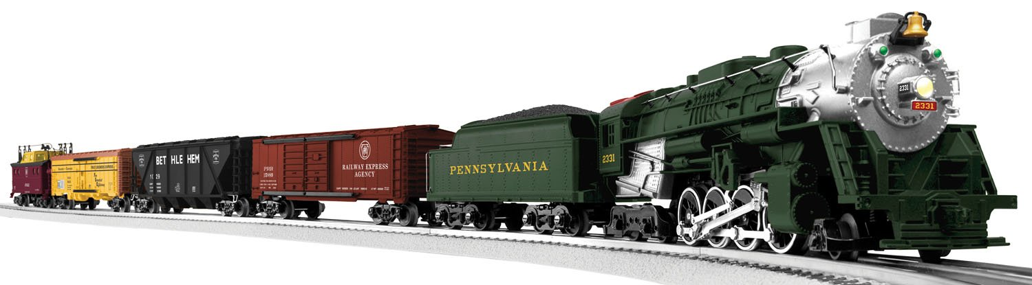 Horseshoe Curve Freight Train Set