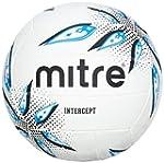 Mitre Intercept Training Netball - Wh...