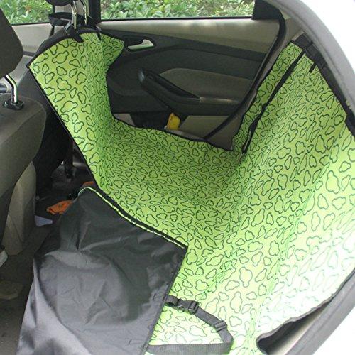 Artikelbild: Haustier-Auto-Sitzabdeckung Hundematte für Rear Seat, Green Cloud (einfach)