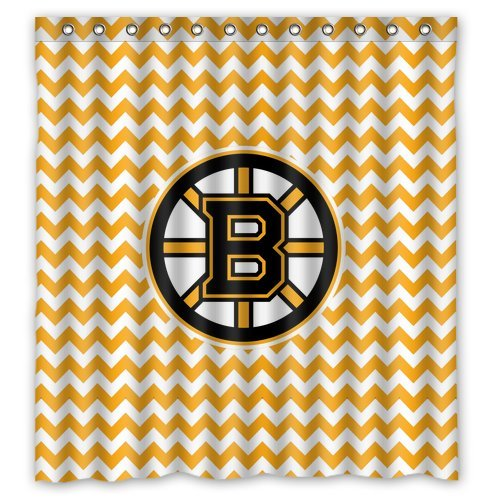Boston Bruin Curtains - CafePress