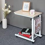 WSI Laptop Bett Tabelle, Computertisch Rutschfester Fuß Adjustable Persönlicher Moderner Laptop Schreibtisch Ausgangseinfaches Schreibtisch Bett Büro 30 48 56CM / Pattern 1 (Color: Pattern 1)