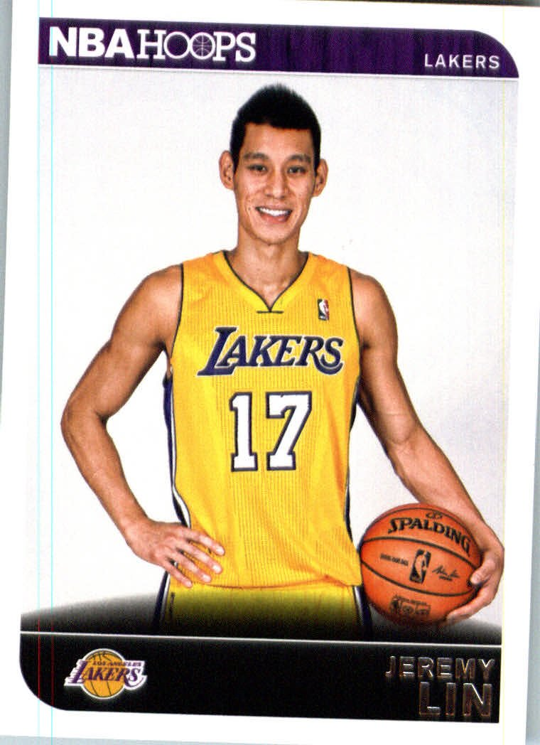 2014 /15 Panini Hoops Basketball Card # 191 Jeremy Lin Los Angeles Lakers IN PROTECTIVE SCREWDOWN DISPLAY CASE los angeles clippers 2014 2015 hoops basketball nba licensed factory sealed 8 card team set with blake griffin chris paul and more