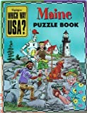 img - for Maine Puzzle Book (Highlights Which Way USA?, Maine) book / textbook / text book