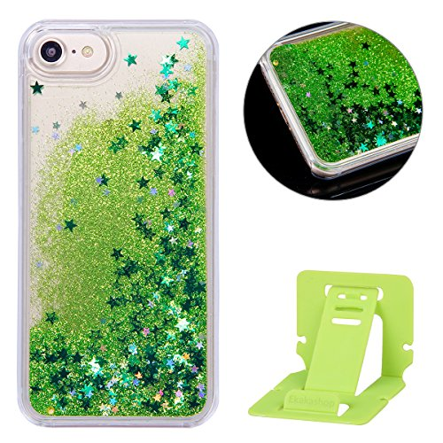 iphone-7-hulle-flussigiphone-7-liquid-hulleneueste-schoner-kreativ-design-3d-bling-glitzer-grun-funk