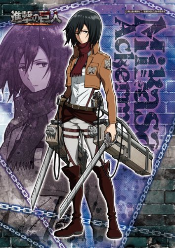 Attack on Titan 108piece Mikasa Ackerman 108-573