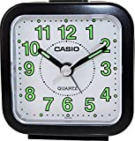 Casio TQ141-2 Travel Quartz Beep Alarm Clock (Blue)