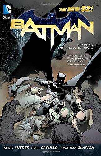Batman Volume 1: The Court of Owls TP (The New 52)