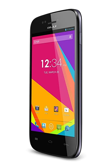 BLU Advance 4.0 Unlocked Cellphone, Black