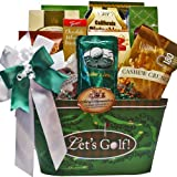 Time To Golf! Gourmet Food Gift Basket - A Great Father's Day Gift Idea!
