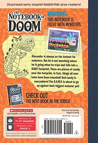 Whack of the P-Rex (Notebook of Doom. Scholastic Branches)
