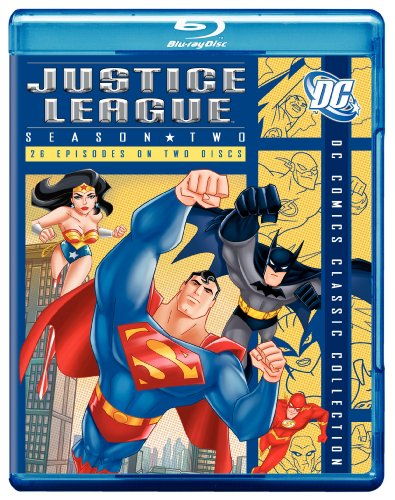 Justice League: Season 2 (DC Comics Classic Collection) [Blu-ray] (The League Season 2 compare prices)