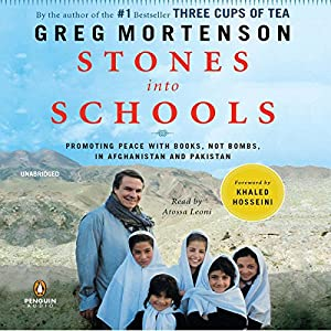 Stones into Schools Audiobook