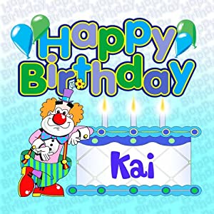 Happy Birthday Kai - Personalised Party CD by Various: Amazon.co.uk ...: www.amazon.co.uk/Happy-Birthday-Kai-Personalised-Party/dp/B001DIB5TI