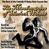 img - for The Misadventures of Sherlock Holmes: The Best of the Comedy-O-Rama Hour, Season One book / textbook / text book