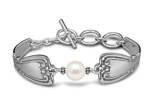 Silver Spoon Crystal Pearl Bracelets | Women