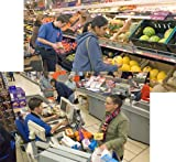 SUPERMARKET BANNERS - LARGE (Code 272) A pair of realistic scene setters that c...