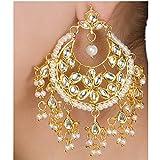 Imlistreet Kundan Jhalar Earrings