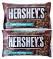 Hersheys Mint Chocolate Baking Chips, 10-Ounce Bag (Pack of 2)