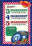 Essential 3-4-5 Ingredient Cookbook (1931294992) by Barbara Jones