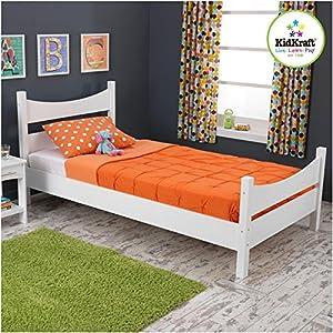 KidKraft Addison Twin Bed, White from KidKraft