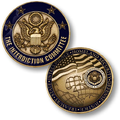 USCG Interdiction Committee Challenge COin